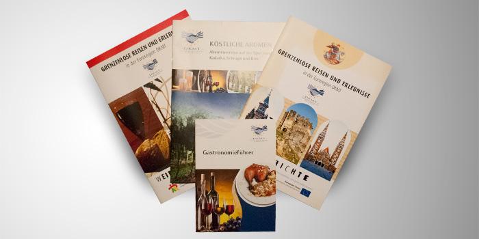 Grenzenlose – a DKMT eurorégió kiadványai